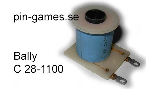 Pinball Coil CC-28-1100 Ball Count Bonus Unit Coil Bally Solenoid Game Part